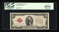 Error Notes:Ink Smears, Fr. 1508 $2 1928G Legal Tender Note. PCGS About New 50PPQ.. ...