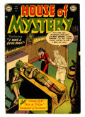 Golden Age (1938-1955):Horror, House of Mystery #2 (DC, 1952) Condition: GD+....