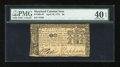 Colonial Notes:Maryland, Maryland April 10, 1774 $2 PMG Extremely Fine 40 EPQ....