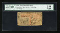 Colonial Notes:New Jersey, New Jersey April 10, 1759 30s PMG Fine 12....