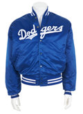 Movie/TV Memorabilia:Autographs and Signed Items, Tommy Lasorda Signed L.A. Dodgers Jacket....