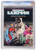 Magazines:Humor, National Lampoon #14 (Eerie Publications, 1971) CGC NM 9.4 Whitepages....