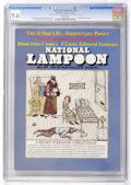 Magazines:Humor, National Lampoon #21 (NL Communications, 1971) CGC NM+ 9.6 Whitepages....