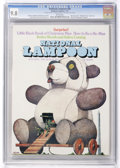 Magazines:Humor, National Lampoon #28 (NL Communications, 1972) CGC NM/MT 9.8 Whitepages....