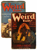 Pulps:Horror, Weird Tales Group (Popular Fiction, 1939-43) Condition: AverageVG-.... (Total: 2 Items)