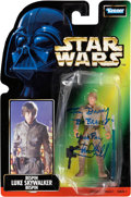 Movie/TV Memorabilia:Autographs and Signed Items, Mark Hamill Signed Star Wars Action Figure....