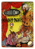 Golden Age (1938-1955):Classics Illustrated, Classic Comics #8 Arabian Nights - HRN 20 (Gilberton, 1943)Condition: VG-....