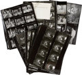 Movie/TV Memorabilia:Photos, The Lucy-Desi Comedy Hour Vintage Contact Sheets.... (Total: 45 Items)