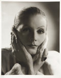 Movie/TV Memorabilia:Photos, Greta Garbo Photo Portrait by Clarence Sinclair Bull....