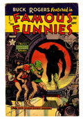 Golden Age (1938-1955):Science Fiction, Famous Funnies #213 (Eastern Color, 1954) Condition: VG....
