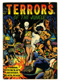 Golden Age (1938-1955):Horror, Terrors of the Jungle #17 (#1) (Star, 1952) Condition: VG....