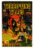 Golden Age (1938-1955):Horror, Terrifying Tales #13 (Star Publications, 1953) Condition: VG....
