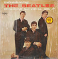 Music Memorabilia:Recordings, Introducing the Beatles Mono LP (Vee Jay 1062, 1964)....