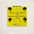 Music Memorabilia:Recordings, The Beatles Christmas Album From Then to You 1970 (UK -Apple 2153-54, 1970)....