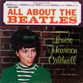 Music Memorabilia:Recordings, All About the Beatles by Louise Harrison Caldwell LP (Re-Car 2012, 1965)....