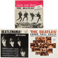 Music Memorabilia:Recordings, Beatles Canadian LP Group of 3 (Canada - Capitol, 1964).... (Total:3 Items)