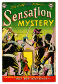 Golden Age (1938-1955):Horror, Sensation Mystery #116 (DC, 1953) Condition: Apparent VG/FN....