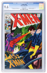 X-Men #59 (Marvel, 1969) CGC NM+ 9.6 Off-white pages