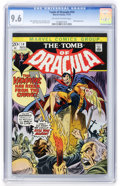 Bronze Age (1970-1979):Horror, Tomb of Dracula #14 (Marvel, 1973) CGC NM+ 9.6 Off-white to whitepages....