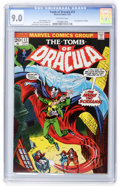 Bronze Age (1970-1979):Horror, Tomb of Dracula #12 (Marvel, 1973) CGC VF/NM 9.0 Off-whitepages....