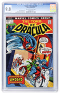 Bronze Age (1970-1979):Horror, Tomb of Dracula #11 (Marvel, 1973) CGC NM/MT 9.8 Off-white to whitepages....