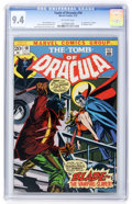 Bronze Age (1970-1979):Horror, Tomb of Dracula #10 (Marvel, 1973) CGC NM 9.4 Off-white pages....
