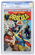Bronze Age (1970-1979):Horror, Tomb of Dracula #9 (Marvel, 1973) CGC NM+ 9.6 Off-white pages....
