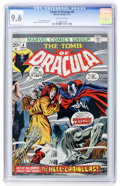 Bronze Age (1970-1979):Horror, Tomb of Dracula #8 (Marvel, 1973) CGC NM+ 9.6 Off-white pages....