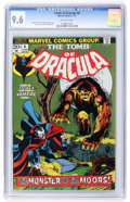 Bronze Age (1970-1979):Horror, Tomb of Dracula #6 (Marvel, 1973) CGC NM+ 9.6 Off-white pages....