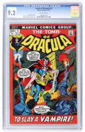Bronze Age (1970-1979):Horror, Tomb of Dracula #5 (Marvel, 1972) CGC NM- 9.2 Off-white pages....