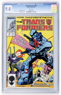 Modern Age (1980-Present):Science Fiction, Transformers #32 (Marvel, 1987) CGC NM/MT 9.8 White pages....