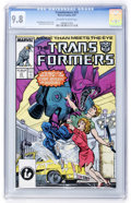 Modern Age (1980-Present):Science Fiction, Transformers #31 (Marvel, 1987) CGC NM/MT 9.8 Off-white to whitepages....