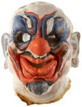 Movie/TV Memorabilia:Costumes, Killer Klowns From Outer Space Costume Mask....