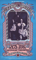 Music Memorabilia:Posters, Big Brother & the Holding Co./MC5/Grande Ballroom ConcertPoster (Russ Gibb, 1968)....