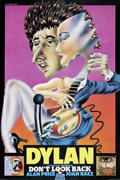 Music Memorabilia:Posters, Bob Dylan Don't Look Back Movie Poster (1967)....