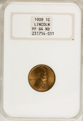 Proof Lincoln Cents, 1909 1C PR64 Red NGC....