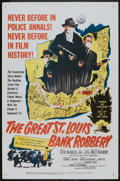 """Movie Posters:Crime, The Great St. Louis Bank Robbery (United Artists, 1959). One Sheet (27"""" X 41""""). Crime.. ..."""