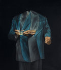 Paintings, HUGO SBERNINI. (Argentinean, b. 1942). El Brindis, 1974-1976. Oil and acrylic on canvas. 62-3/4 x 55 inches (159.4 x 139...