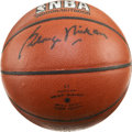 Basketball Collectibles:Balls, George Mikan Signed Basketball. ...