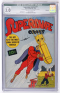 Golden Age (1938-1955):Superhero, Supersnipe Comics #11 Incomplete (Street & Smith, 1943) CGCQualified GD/VG 3.0 Off-white to white pages....