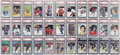 Hockey Cards:Lots, 1971-72 - 1981-82 Hockey Graded Group Lot of 33...