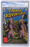 Golden Age (1938-1955):Science Fiction, Strange Adventures #1 (DC, 1950) CGC VG+ 4.5 Cream to off-whitepages....