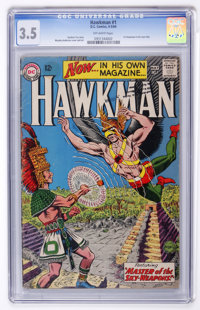 Hawkman #1 (DC, 1964) CGC VG- 3.5 Off-white pages