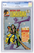 Bronze Age (1970-1979):Western, Tomahawk #138 Slobodian pedigree (DC, 1972) CGC NM 9.4 White pages....