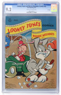 Golden Age (1938-1955):Cartoon Character, Looney Tunes and Merrie Melodies Comics #65 File Copy (Dell, 1947)CGC NM- 9.2 Cream to off-white pages....