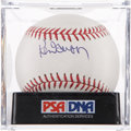 Autographs:Baseballs, Ken Griffey, Sr. Single Signed Baseball PSA Mint 9. ...