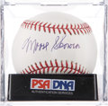 Autographs:Baseballs, Moose Skowron Single Signed Baseball PSA Mint 9. ...