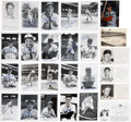 Autographs:Post Cards, St Louis Baseball Signed Postcard Collection Of Over 140....