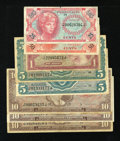 Military Payment Certificates:Series 641, MPC 641 Grouping.. ... (Total: 8 notes)