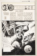 Original Comic Art:Covers, Jack Sparling The Six Million Dollar Man #6 Cover OriginalArt (Charlton, 1978)....